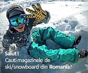 Magazine de echipament ski si snowboard din Romania