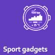 Sport gadgets