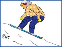 cum faci backside 180 pe snowboard, pasul 5
