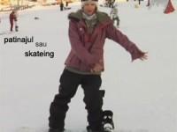 skateing pe snowboarding