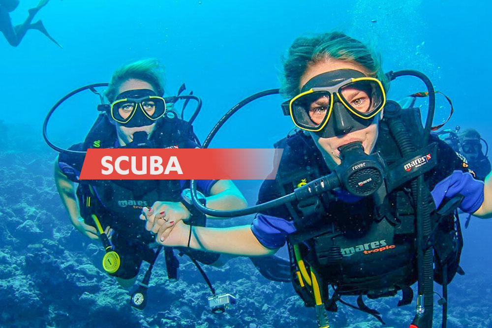 Unde poti face scuba diving in Romania | centre scufundari, cursuri si magazine