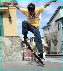waveboard | streetsurfing ollie