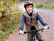 casca de protectie pe bicicleta
