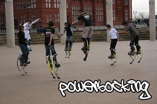 powerbocking | jumping stilts