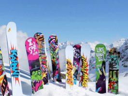 placa de snowboard