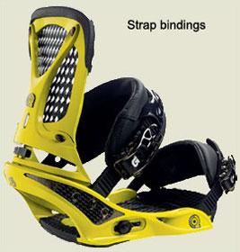 strap bindings | legatui snowboard