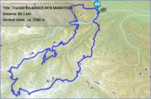 maros-mtb-marathon | traseu 80 km