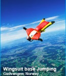 wingsuit base jumping