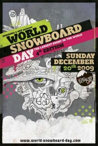 world snowboard day 2009