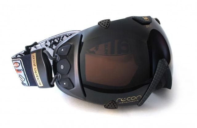 ochelari de snow cu GPS si display