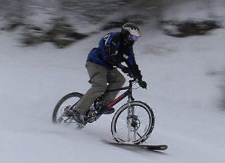 4D Snow Bikes   bicicleta de zapada
