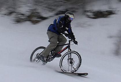 4D Snow Bikes | bicicleta de zapada