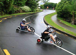 drifturi pe tricicleta