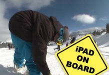 Pimp My Board | iPad incorporat in snowboard