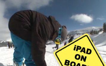 Pimp My Board | iPad incorporat in snowboard