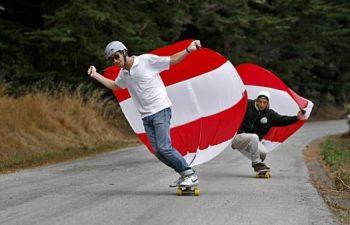 Vela pentru longboard, ski si snowboard