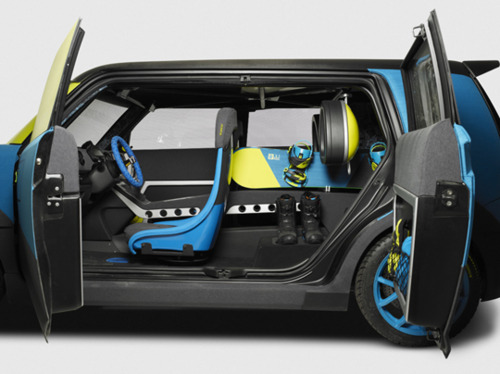 Numeric: 686 and Scion Snowboarding Concept Car