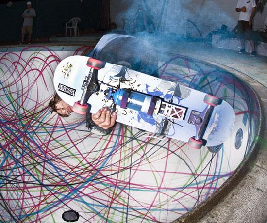 Graffiti plus Skateboarding equals awesomeness!