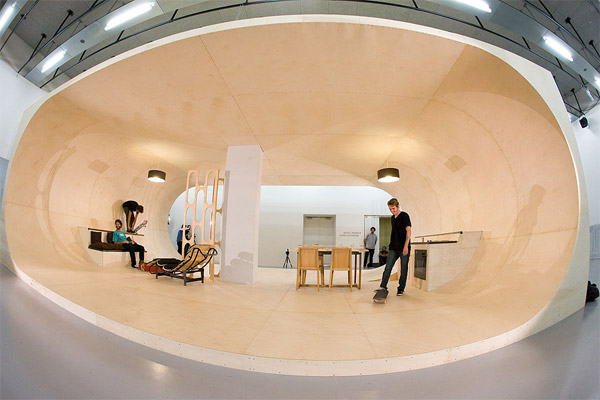transform your room into a skate park