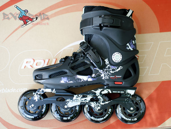 role Rollerblade | Twister Woman 80 2012