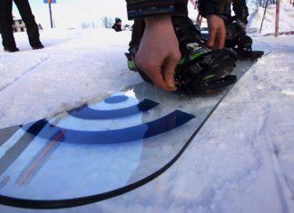 Glass Snowboard   Signal Every Third Thursday