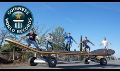 Cel mai mare skateboard din lume | Guinness World Records