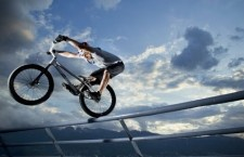 Trials Biking Through a Cargo Port | Kenny Belaey, Red Bull rider