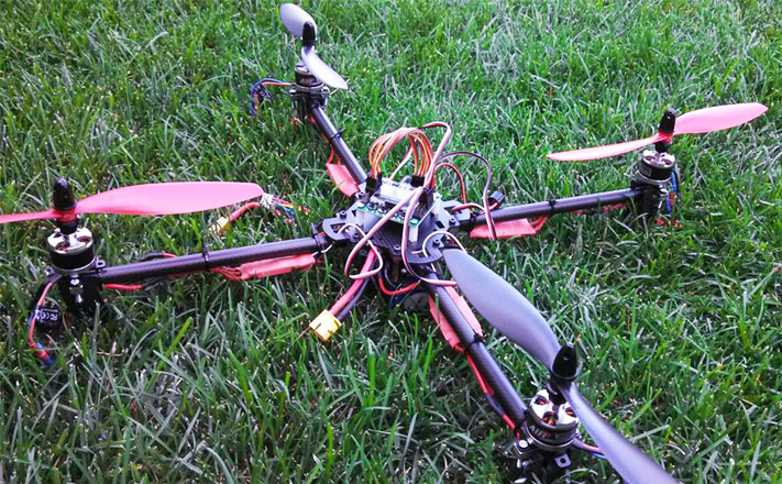 Model 1 | Sturdy Quadcopter Build