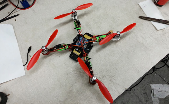 Model 5 | My First Quadrotor