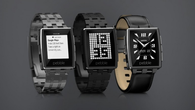 Pebble Steel smartwatch | noul model de ceas inteligent Pebble