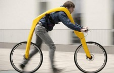 The Fliz bicycle   bicicleta fara pedale!