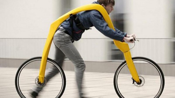 The Fliz bicycle | bicicleta fara pedale!