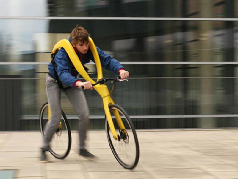The Fliz bicycle   bicicleta fara pedaleeee!