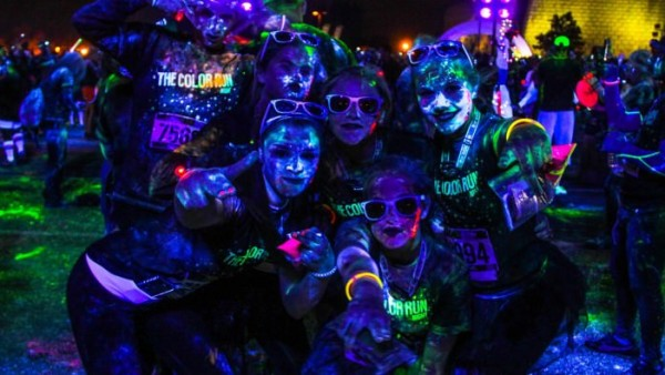 The Color Run by Night 2015