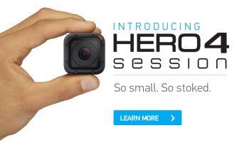 GoPro lanseaza cea mai mica camera pentru sport | HERO4 Session