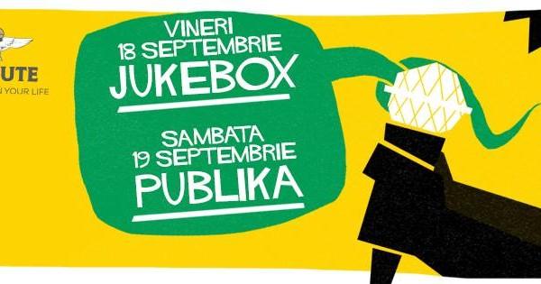 Toamna se numara concertele iar TRIBUTE Club continua seria evenimentelor live cu Jukebox si Publika