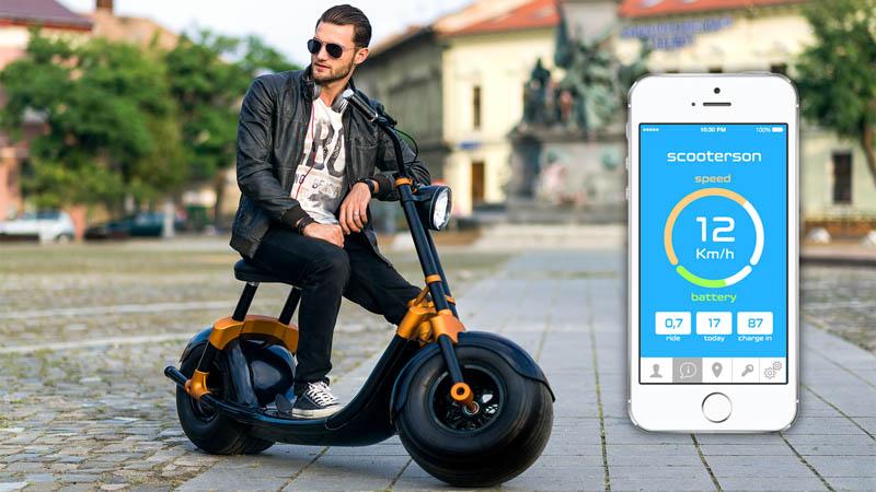 Scooterson | un scuter inteligent dezvoltat la Arad