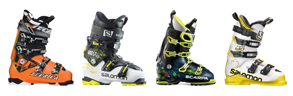 tipuri de clapari pentru ski