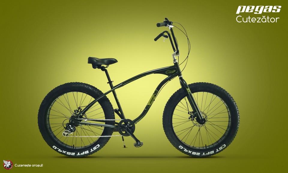 Pegas Cutezator | primul Fat Bike din gama Pegas