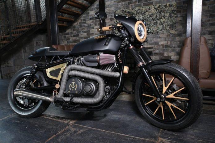 Motocicleta Yamaha Fine Cut custom made in Romania