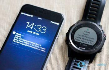 SmartWatch Garmin Fenix 3 | notificari email