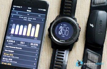 SmartWatch Garmin Fenix 3 | monitorizare pasi