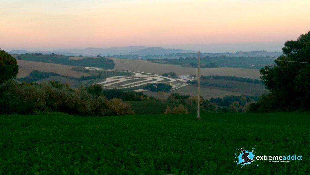 Vizita la pizzeria lui Rossi in Tavullia | ranch Rossi