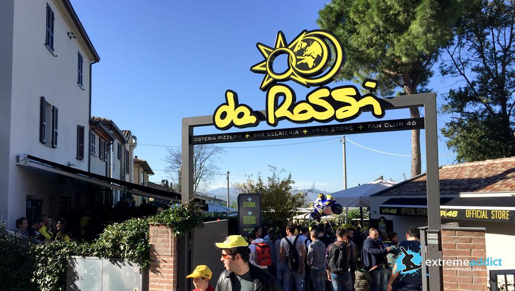 Vizita la pizzeria lui Rossi in Tavullia | da Rossi
