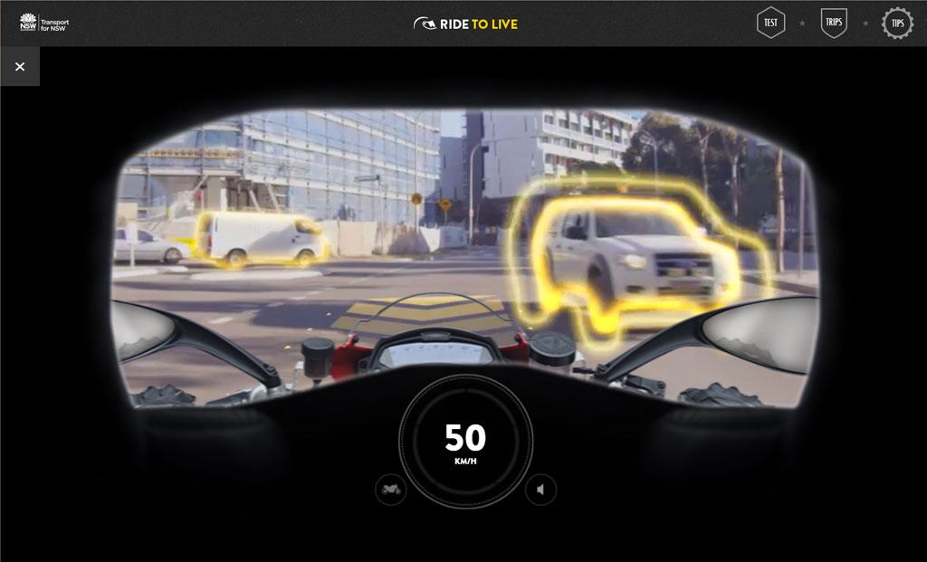RIDEtoLIVE | Simulator online pentru mers cu motocicleta in oras