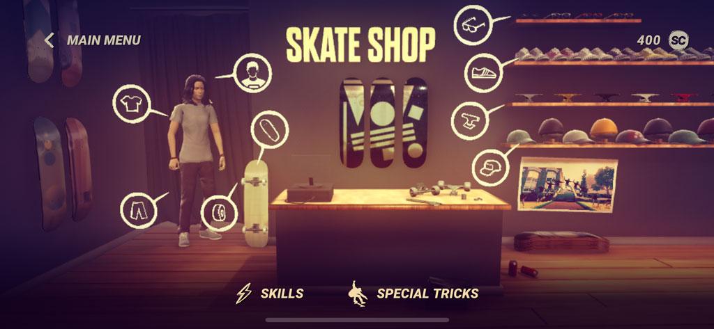 joc smartphone Skate City